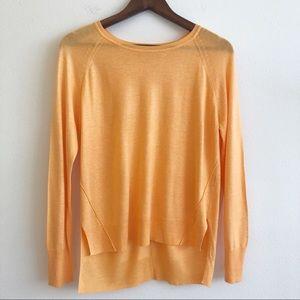 ZARA Knit Hi Low Hem Pullover Sweater SZ M
